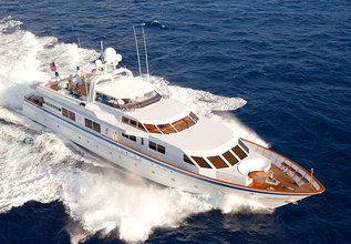 Lady Laura Charter Yacht at Palm Beach Boat Show 2013