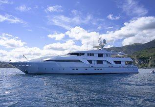 Deep Blue II Charter Yacht at Monaco Yacht Show 2017