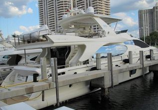 Poupee Charter Yacht at Palm Beach Boat Show 2013