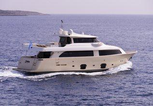 Dana Charter Yacht at Mediterranean Yacht Show 2014