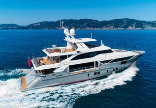 Deliberately Lucky Charter Yacht at Cannes Yachting Festival 2018
