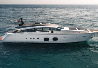 Naav Charter Yacht at Fort Lauderdale Boat Show 2019 (FLIBS)
