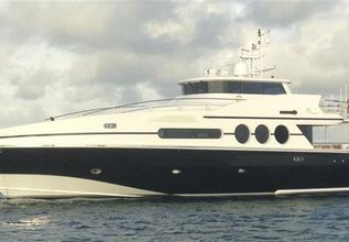Denrae Charter Yacht at Fort Lauderdale Boat Show 2015
