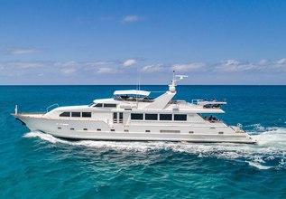 Alexandra Jane Charter Yacht at Bahamas Charter Show 2020