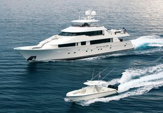 Bess Times Charter Yacht at Palm Beach Boat Show 2014