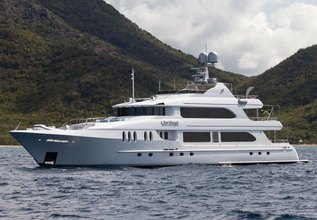 Just Enough Charter Yacht at Antigua Charter Yacht Show 2016