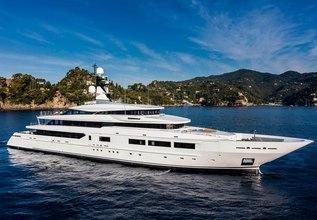 Suerte Charter Yacht at Monaco Yacht Show 2015
