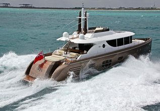 Nisi Charter Yacht at Palm Beach Boat Show 2014