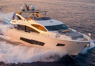 Rush X Charter Yacht at Palma Superyacht Show 2021