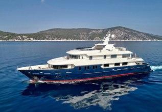 Serenity II Charter Yacht at Mediterranean Yacht Show 2018