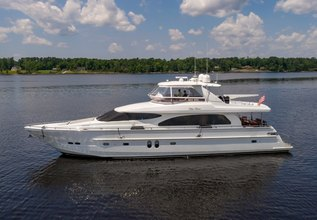 Ella Clare Charter Yacht at Fort Lauderdale International Boat Show (FLIBS) 2021