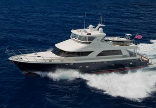 Clarity Charter Yacht at Fort Lauderdale Boat Show 2015