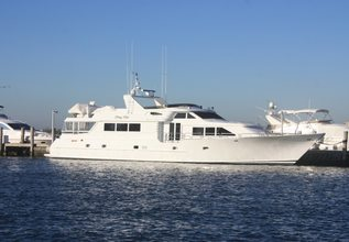 Stray Kat Charter Yacht at Fort Lauderdale Boat Show 2015