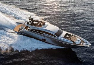 Arena Charter Yacht at Miami Yacht & Brokerage Show 2015
