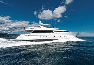 Ariella Charter Yacht at MYBA Charter Show 2014
