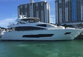 Docqua Charter Yacht at Miami Yacht Show 2020