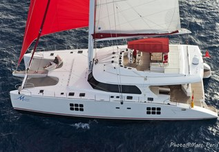 Muse Charter Yacht at Antigua Charter Yacht Show 2016