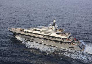 Attila Charter Yacht at Monaco Yacht Show 2019