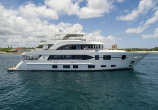 Long Aweighted Charter Yacht at Miami Yacht Show 2018