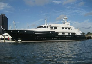 La Polonia Charter Yacht at Fort Lauderdale Boat Show 2015