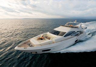 Koukles Charter Yacht at Mediterranean Yacht Show 2014