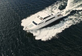 Divertimento II Charter Yacht at Fort Lauderdale Boat Show 2015