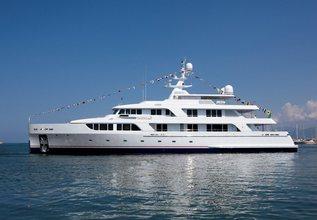 Gazzella II Charter Yacht at Monaco Yacht Show 2019