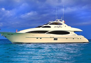 Cedar Island Charter Yacht at Fort Lauderdale Boat Show 2014