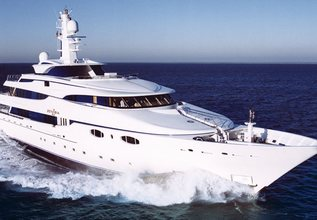 Zenobia Charter Yacht at Monaco Yacht Show 2015
