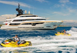 Taiba Charter Yacht at Monaco Yacht Show 2015