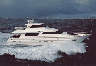 Betsye Charter Yacht at Fort Lauderdale Boat Show 2014