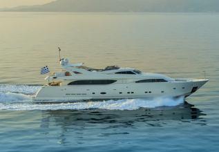 Champagne Seas Charter Yacht at Mediterranean Yacht Show 2019