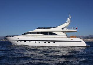 Magenta Charter Yacht at MIPIM 2014