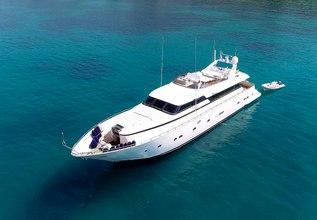 AlanDiNi Charter Yacht at Mediterranean Yacht Show 2018