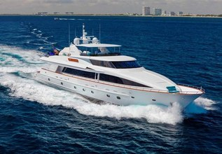 Alican Charter Yacht at Palm Beach Boat Show 2014