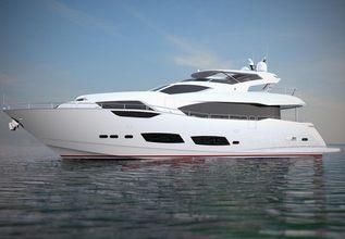 Sunseeker 95 Charter Yacht at Monaco Yacht Show 2018