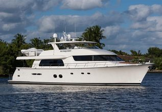 Sunquest Charter Yacht at Palm Beach Boat Show 2019