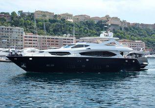 Deb's Delight Charter Yacht at Monaco Grand Prix 2016