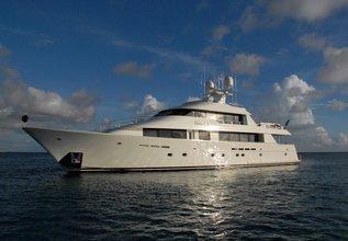 Dona Lola Charter Yacht at Antigua Charter Yacht Show 2014