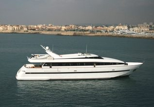 Pas Encore Charter Yacht at Antibes Yacht Show 2014