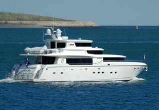 Aquasition Charter Yacht at Fort Lauderdale Boat Show 2015