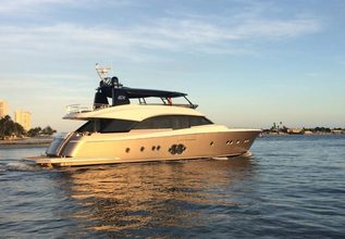 Never Say Never Charter Yacht at Palm Beach Boat Show 2019