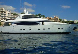 Quo Vadis Charter Yacht at Palma Superyacht Show 2015
