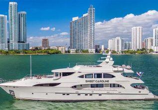 Sweet Caroline Charter Yacht at Miami Yacht Show 2020