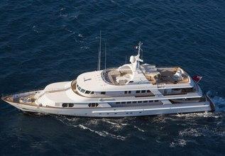 Azul V Charter Yacht at Monaco Yacht Show 2015