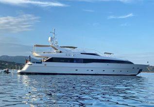 Palm B Charter Yacht at Monaco Grand Prix 2013
