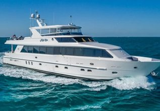 High Rise Charter Yacht at Fort Lauderdale Boat Show 2015
