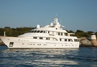 Big Easy Charter Yacht at Fort Lauderdale Boat Show 2015