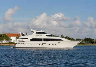 Magic Days Charter Yacht at Palm Beach Boat Show 2019