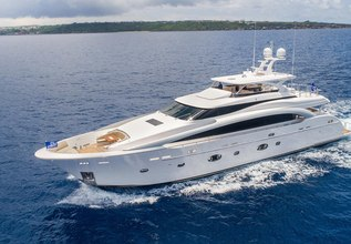Neverland Charter Yacht at Miami Yacht Show 2018